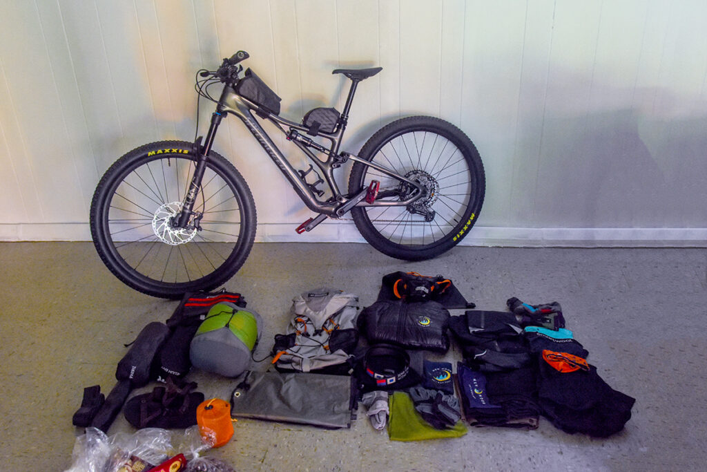 Getting ready to pack this Specialized bike.