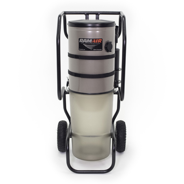 Cyclonic PowerVac Portable Vacuum System