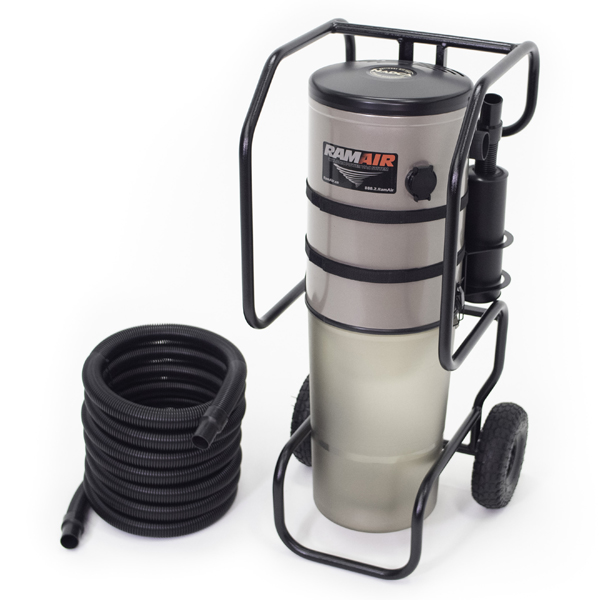 Cyclonic PowerVac Portable Vacuum System from RamAir