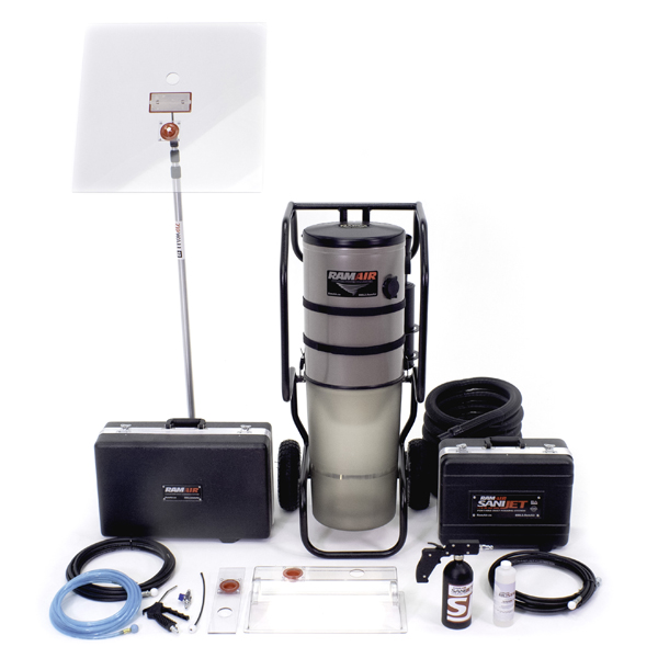 RamAir Air Duct Cleaning Equipment Platinum Package