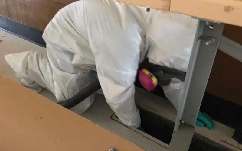 HVAC Meth Decontamination