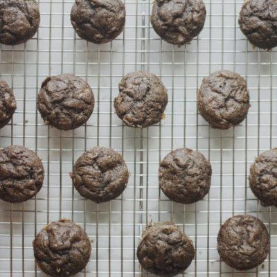 Buckwheat Banana Bread Muffins