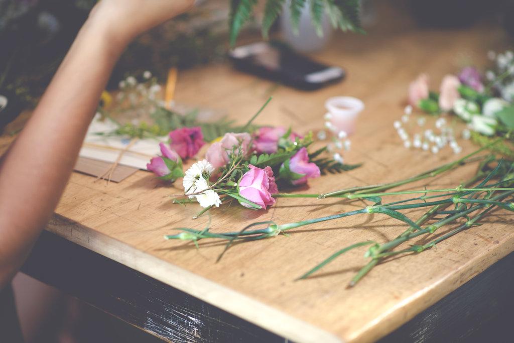 DIY Floral Workshop – Christine Michelle Photography17