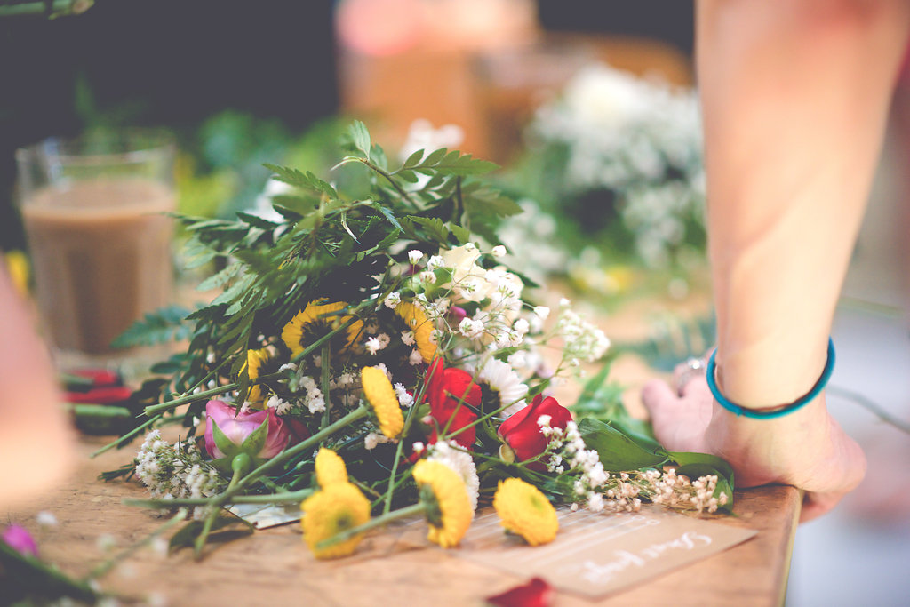 DIY Floral Workshop – Christine Michelle Photography23