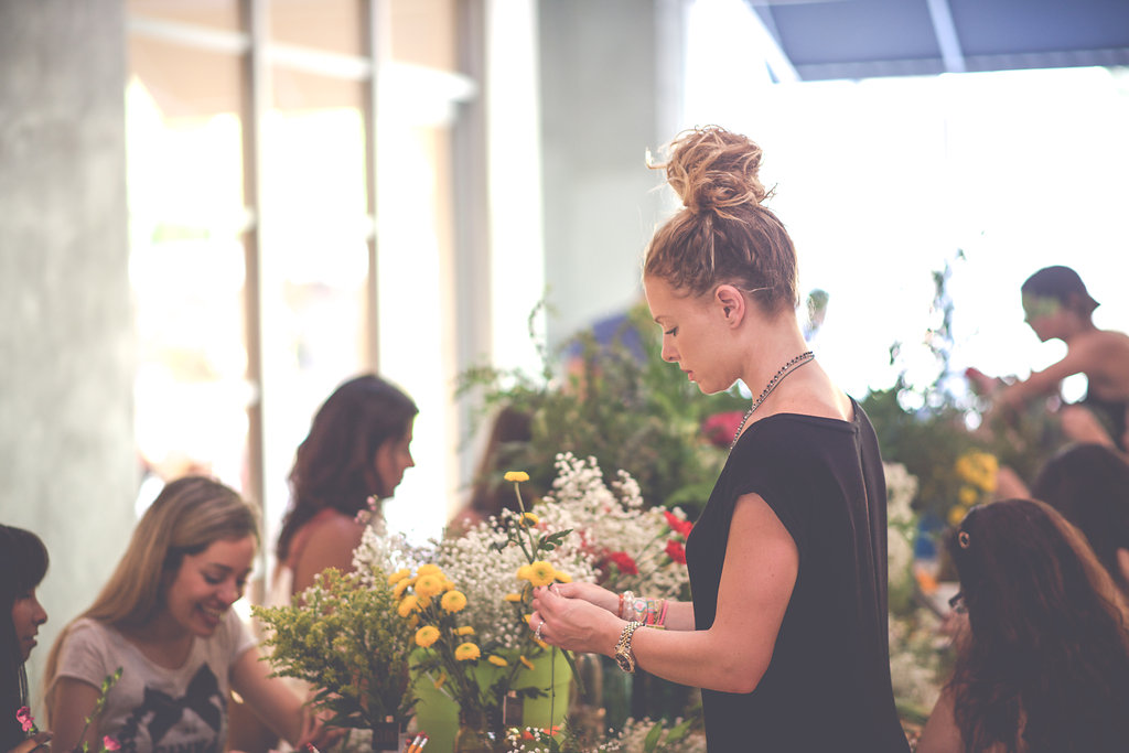 DIY Floral Workshop – Christine Michelle Photography24