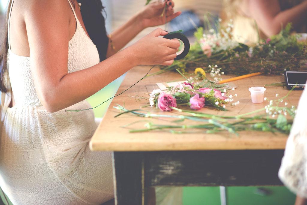 DIY Floral Workshop – Christine Michelle Photography25
