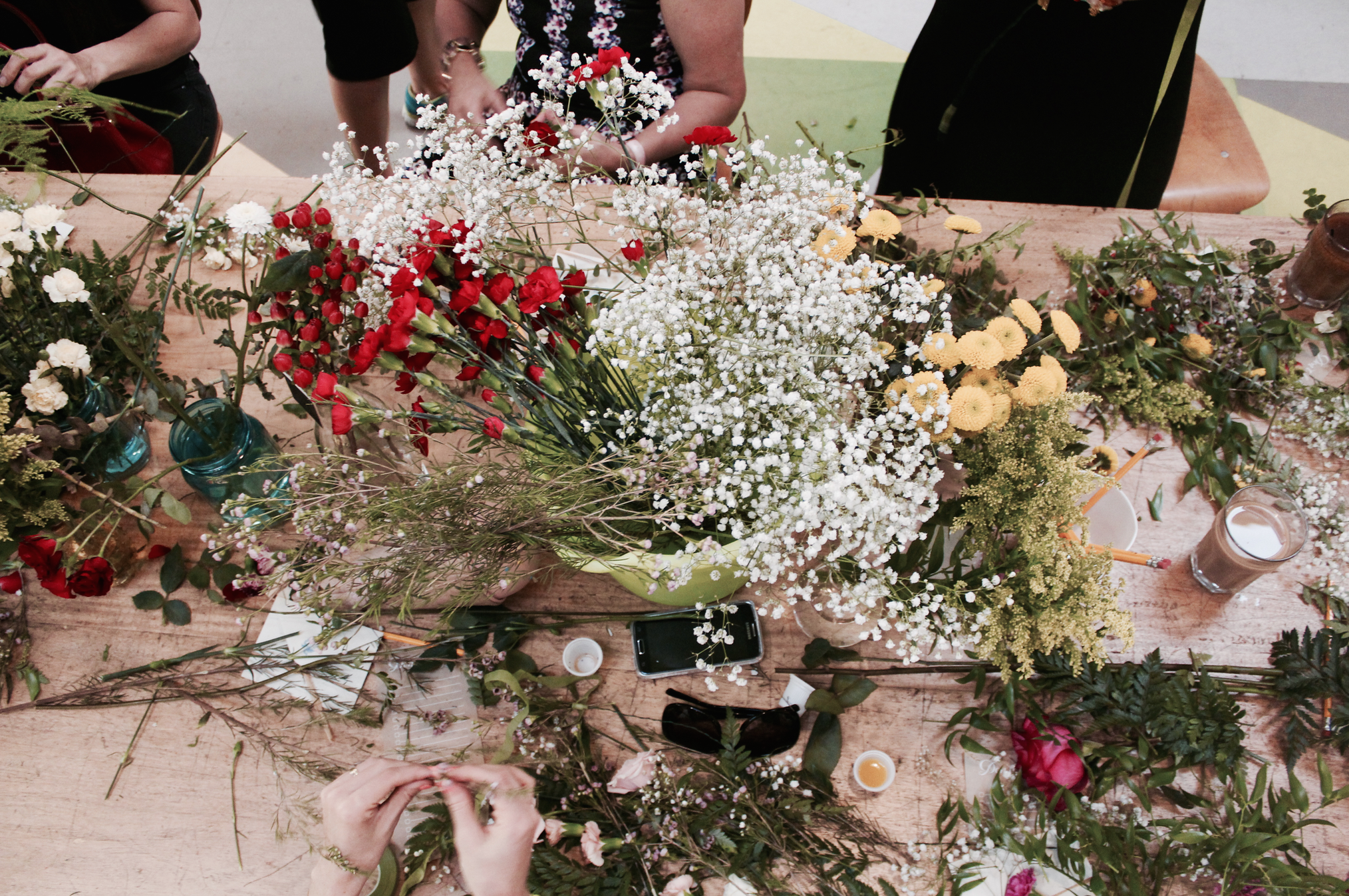 DIY Floral Workshop in Miami1