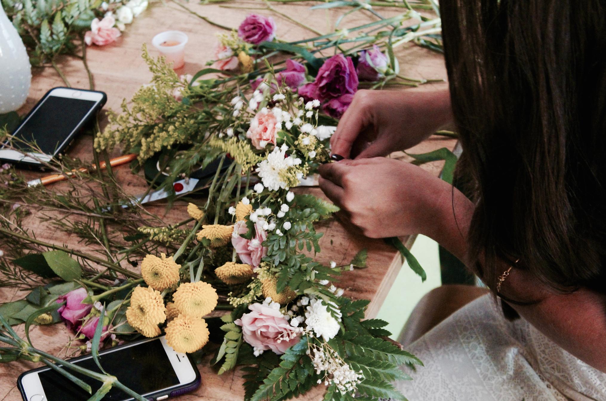 DIY Floral Workshop in Miami11