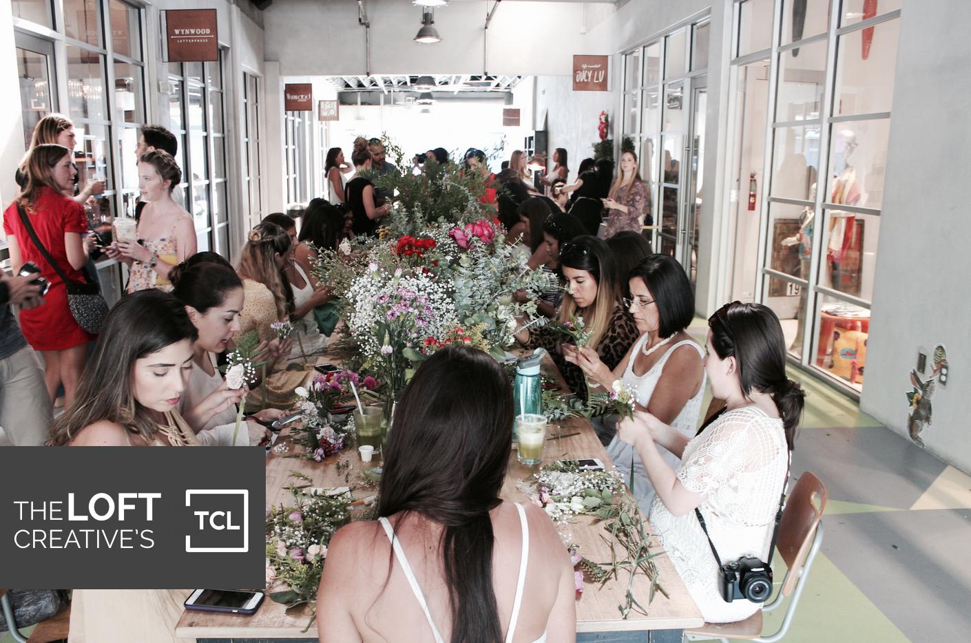 DIY Floral Workshop in Miami6
