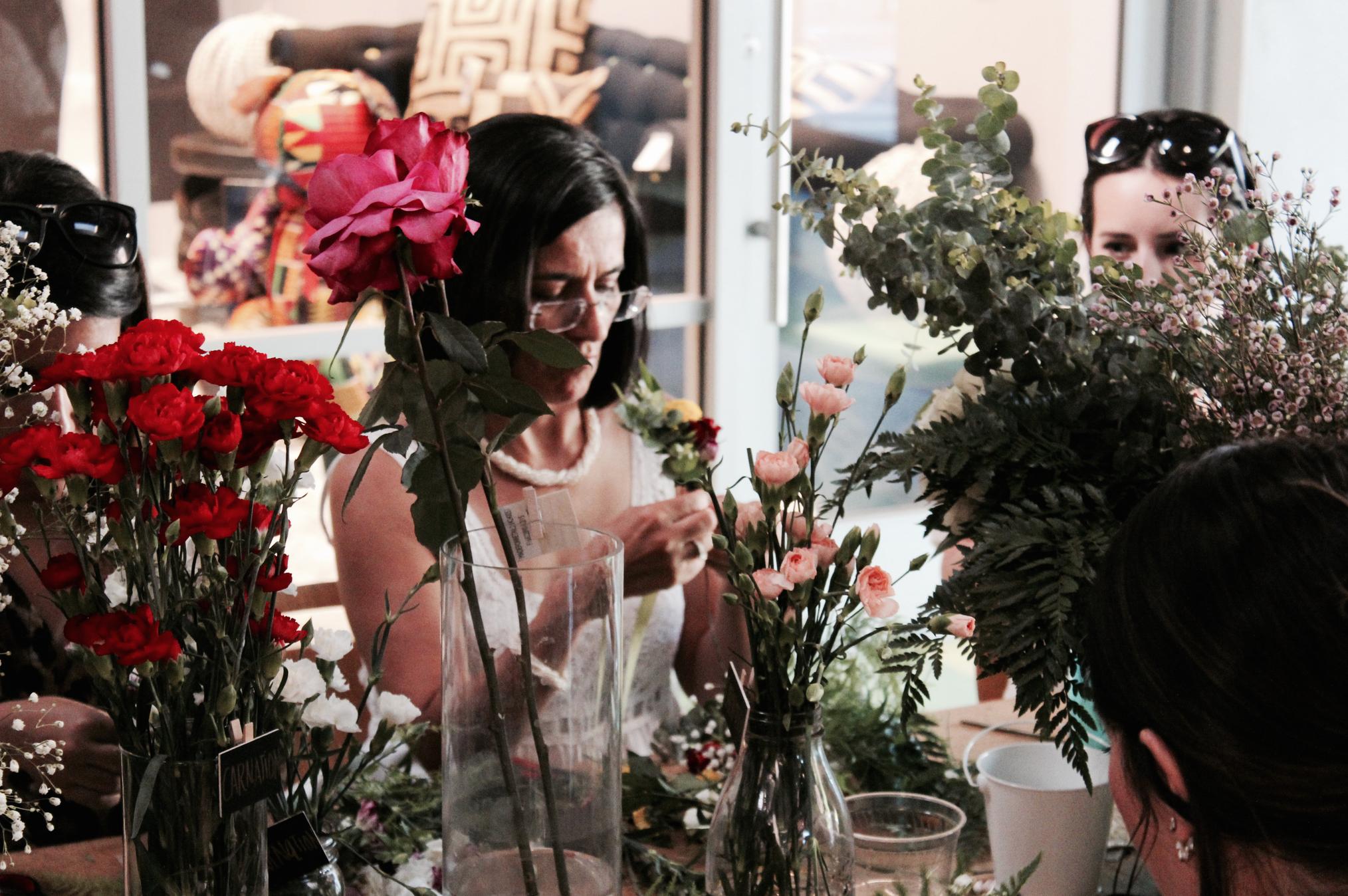 DIY Floral Workshop in Miami8