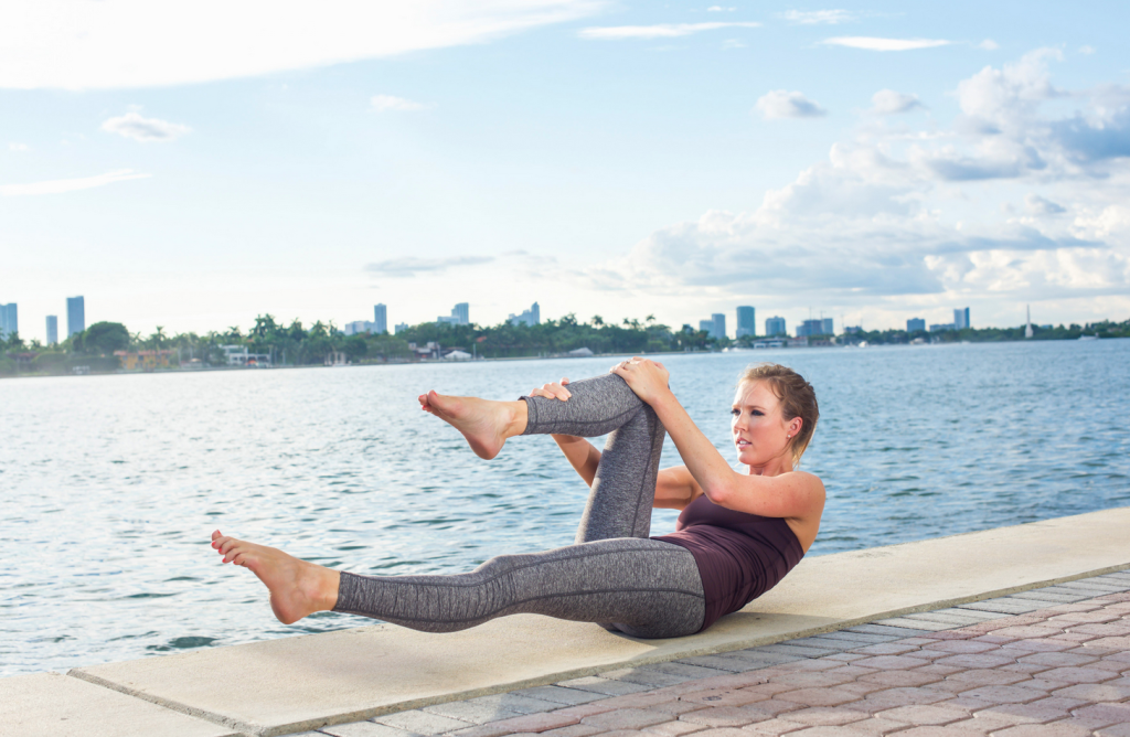 Creative Photoshoot - Katy Winter Miami Pilates Trainer