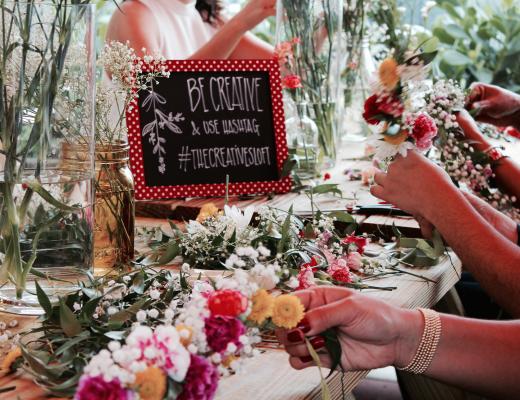Floral Crown Workshop at The Wynwood Yard 49