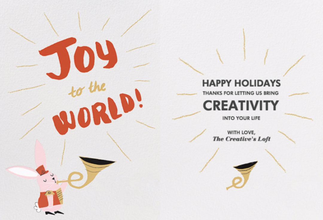 Happy Holidays Creative People
