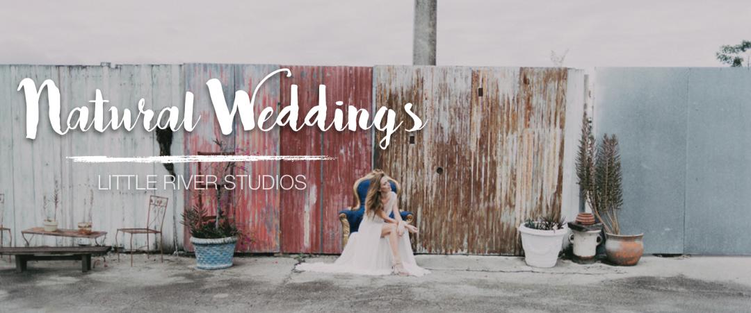 Natural Wedding Inspiration - Little River Studios, Miami