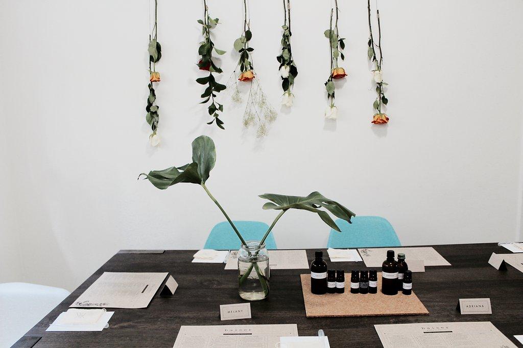 Organic Perfume Workshop by Baiser Beauty