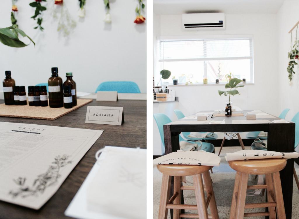 Organic Perfume Workshop by Baiser Beauty 2
