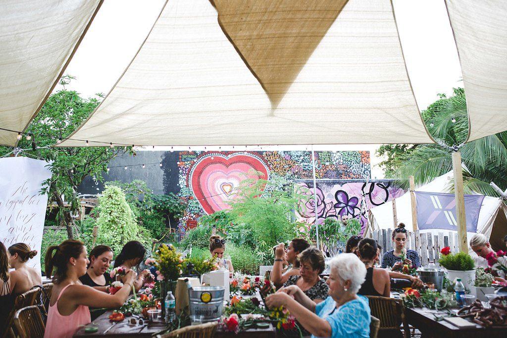 Floral Crown Workshop at The Wynwood Yard Miami29
