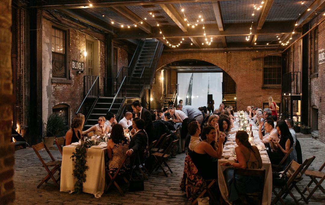 Glasserie Brooklyn Wedding Venue NYC Wedding Planner The Creatives Loft
