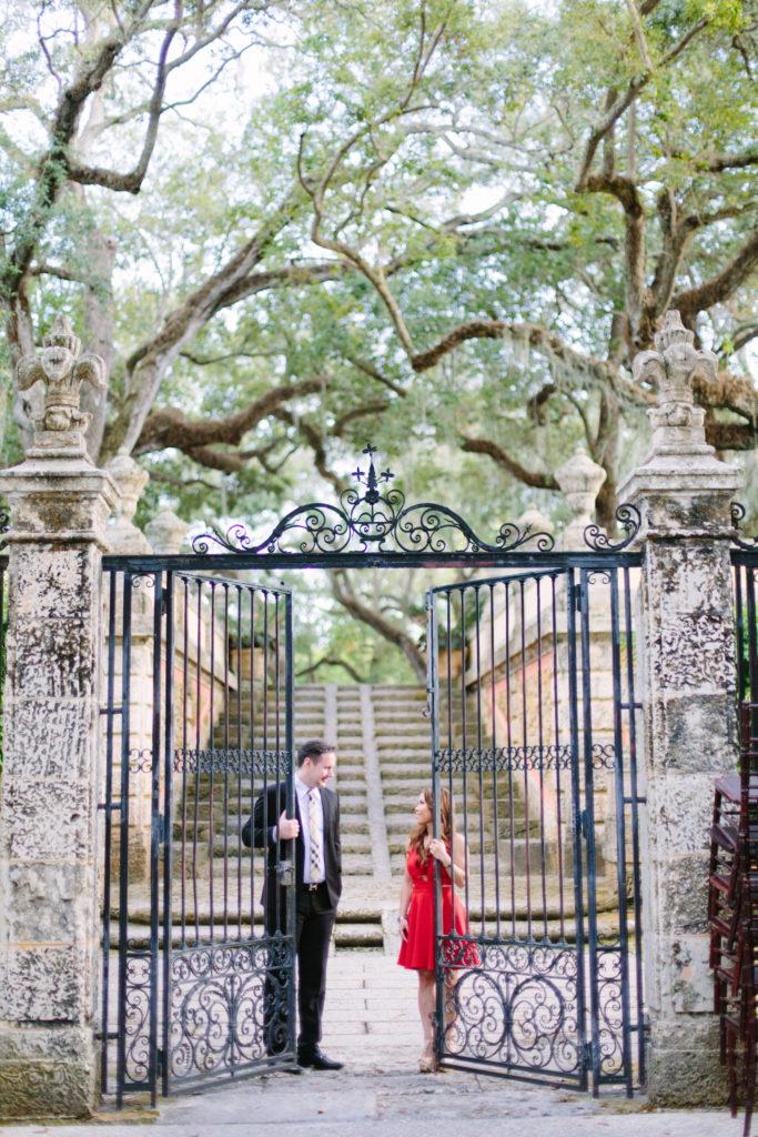 Miami Engagement Session at Villa Vizcaya Miami Wedding Planner Miami Wedding Venues NYC Couple