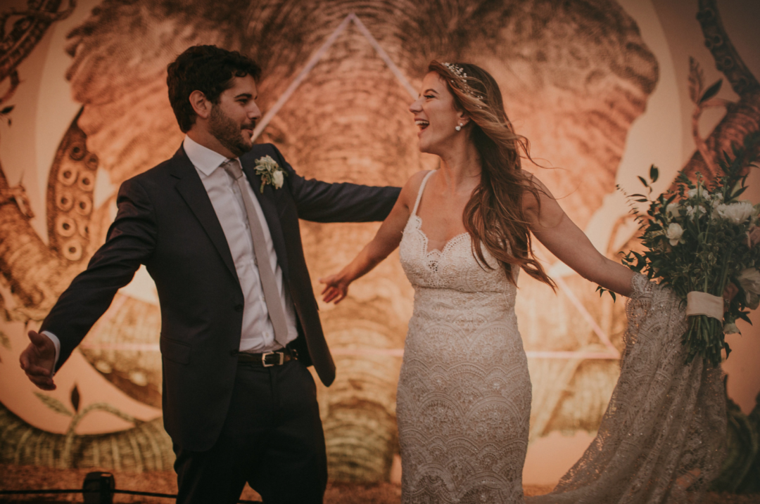 Thierrys Isambert Catering Blog with our Romantic Industrial Wedding in Wynwood