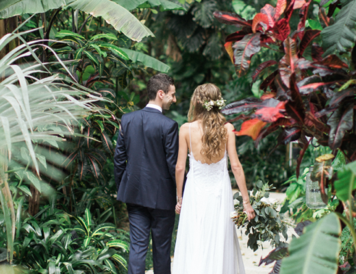 Featured on Style Me Pretty Blog our Tropical Chic Wedding The Creatives Loft Wedding Planning Studio