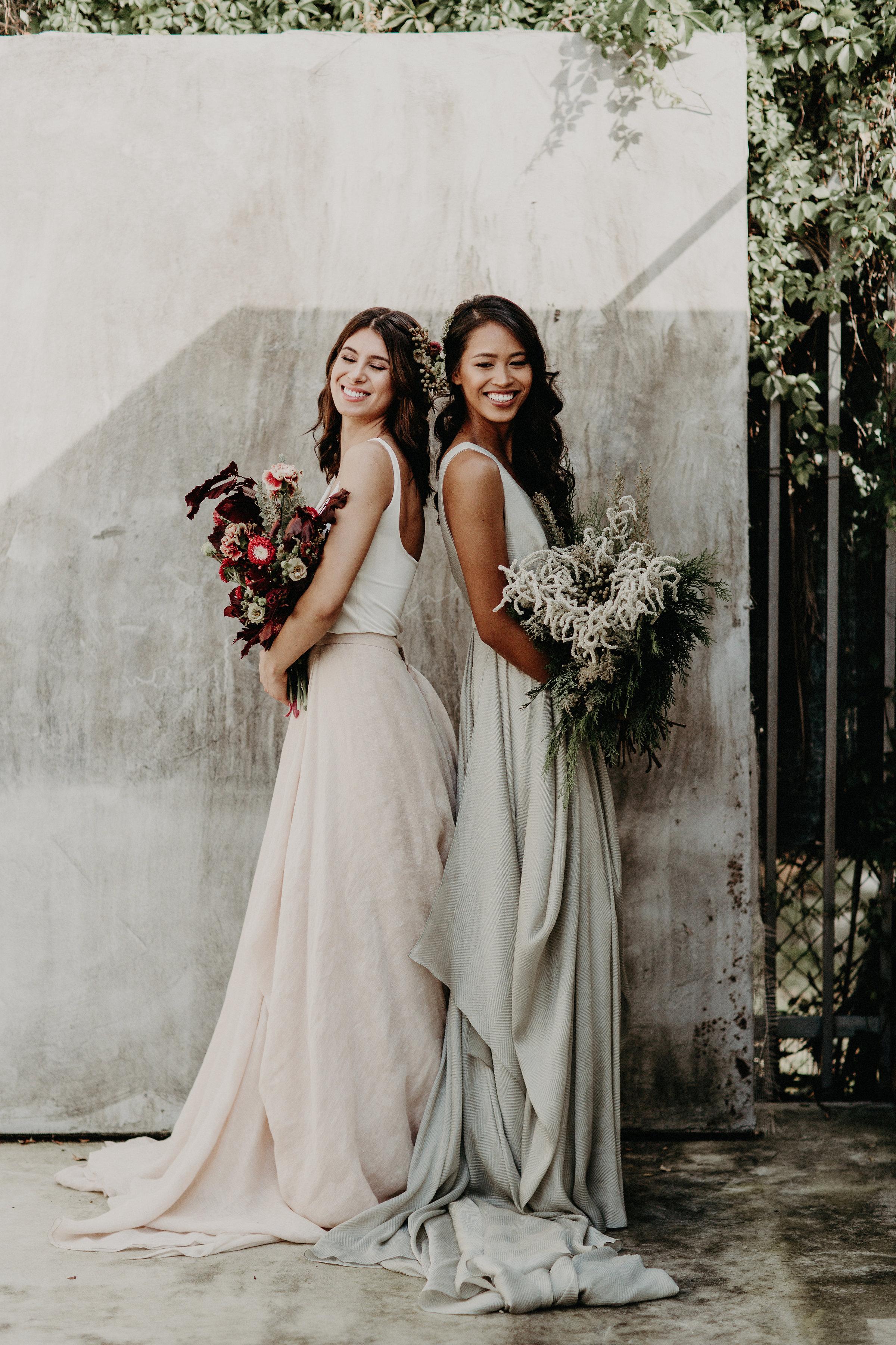 Featured on Junebug Weddings our Winter Bridal Editorial Wedding The Creatives Loft Wedding Planner