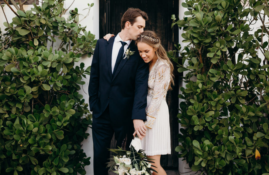 Intimate Industrial Tropical Wedding Film at Miami Beach