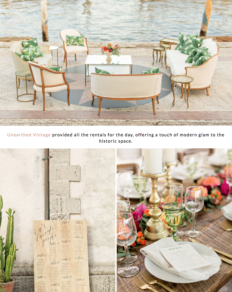 Featured on Green Wedding Shoes our Tropical Vizcaya Museum Wedding 4