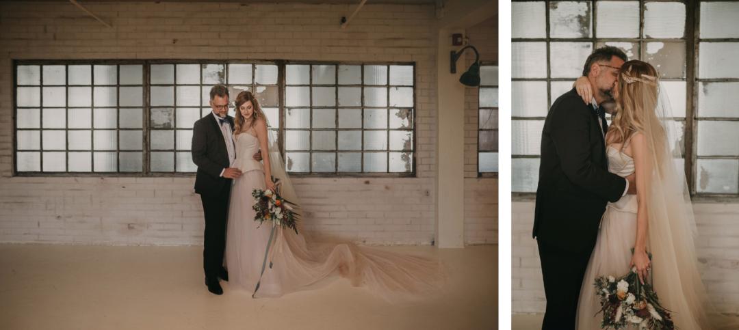 Industrial Wedding at ACE PROPS Miami The Creatives Loft Wedding Planner Miami Destination Weddings