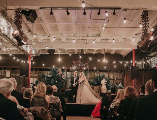 Industrial Wedding at ACE PROPS Miami The Creatives Loft Wedding Planner Miami Destination Weddings 1