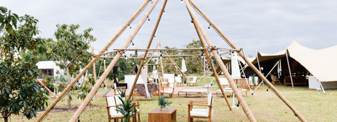 Scandinavian Teepee Wedding in Miami Wedding Planner The Creatives Loft Studio