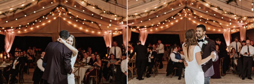 A unique Vizcaya Museum Wedding in Miami The Creatives Loft Weddings Miami couple first dance