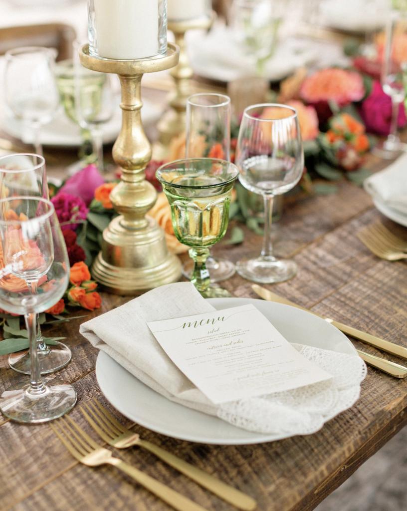 A unique Vizcaya Museum Wedding in Miami The Creatives Loft Weddings Miami Wedding Tablescape Details