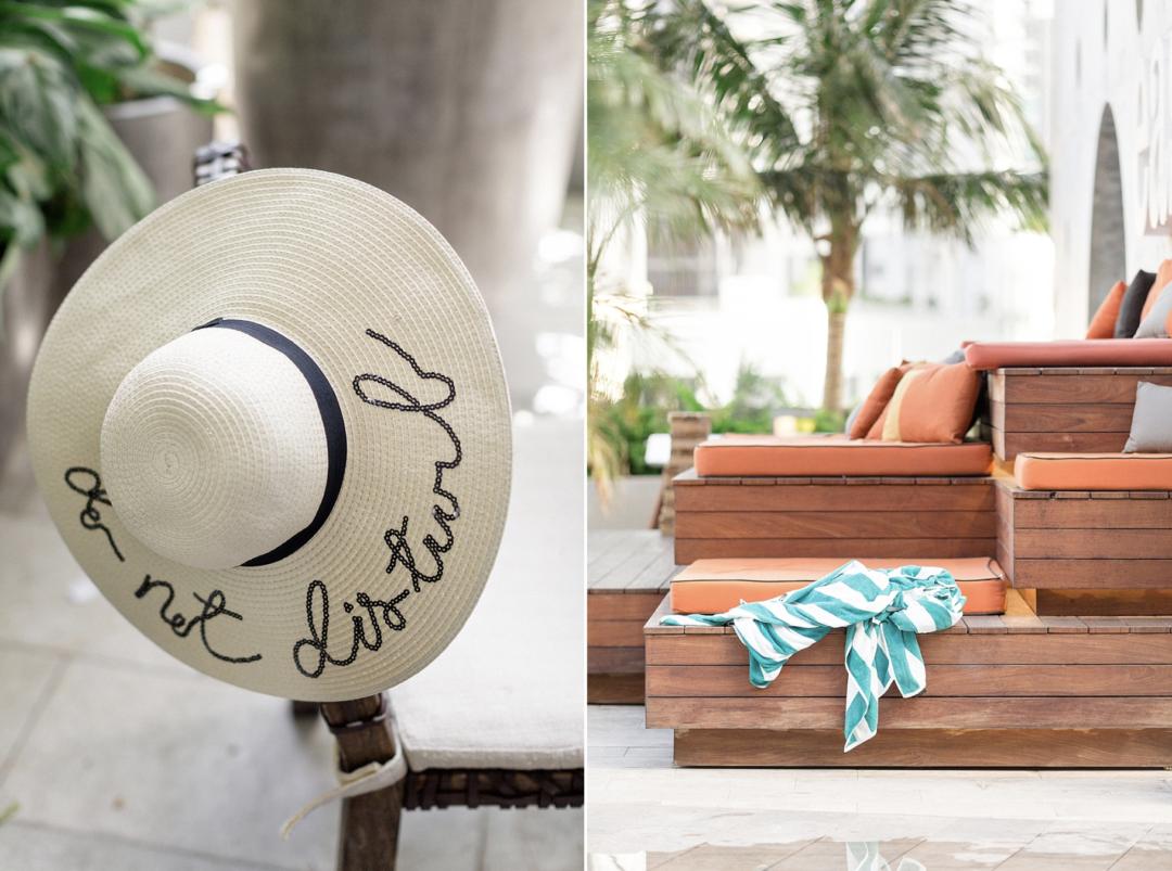 A unique Vizcaya Museum Wedding in Miami The Creatives Loft Weddings Miami East Hotel Pool