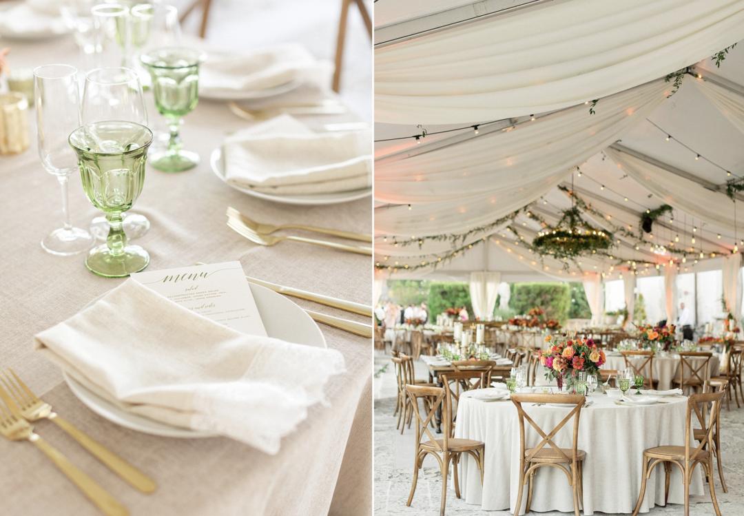 A unique Vizcaya Museum Wedding in Miami The Creatives Loft Weddings Miami Wedding Table Details