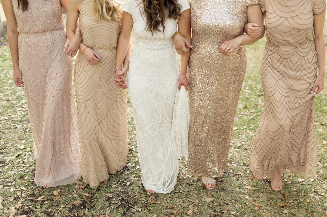A unique Vizcaya Museum Wedding in Miami The Creatives Loft Weddings Miami Bridesmaids dress details