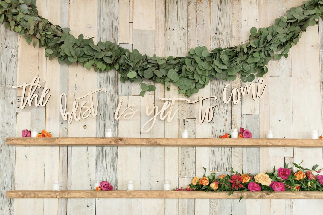 A unique Vizcaya Museum Wedding in Miami The Creatives Loft Weddings Miami Main Backdrop Wall