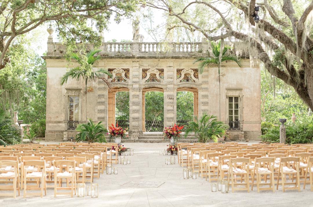 A unique Vizcaya Museum Wedding in Miami The Creatives Loft Weddings Miami Ceremony Overall Vision