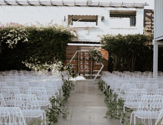Industrial + Romantic Wedding at MAPS Backlot Wynwood