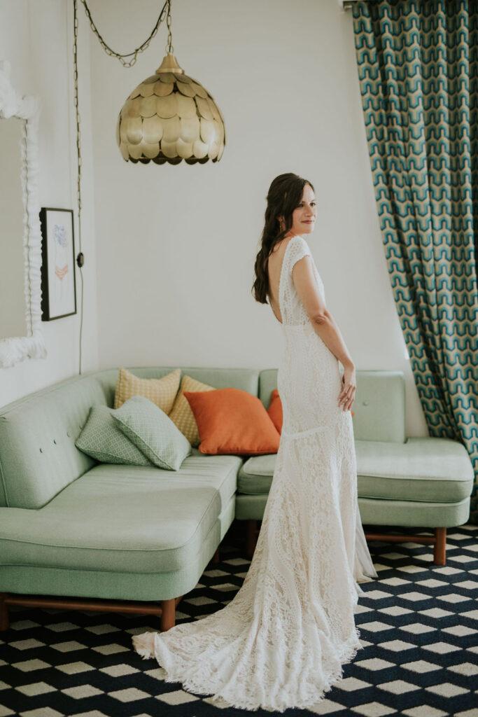 Bride at the hotel Confidante