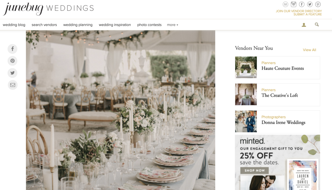 lush vizcaya wedding the creatives loft miami wedding planner featured on junebug weddings