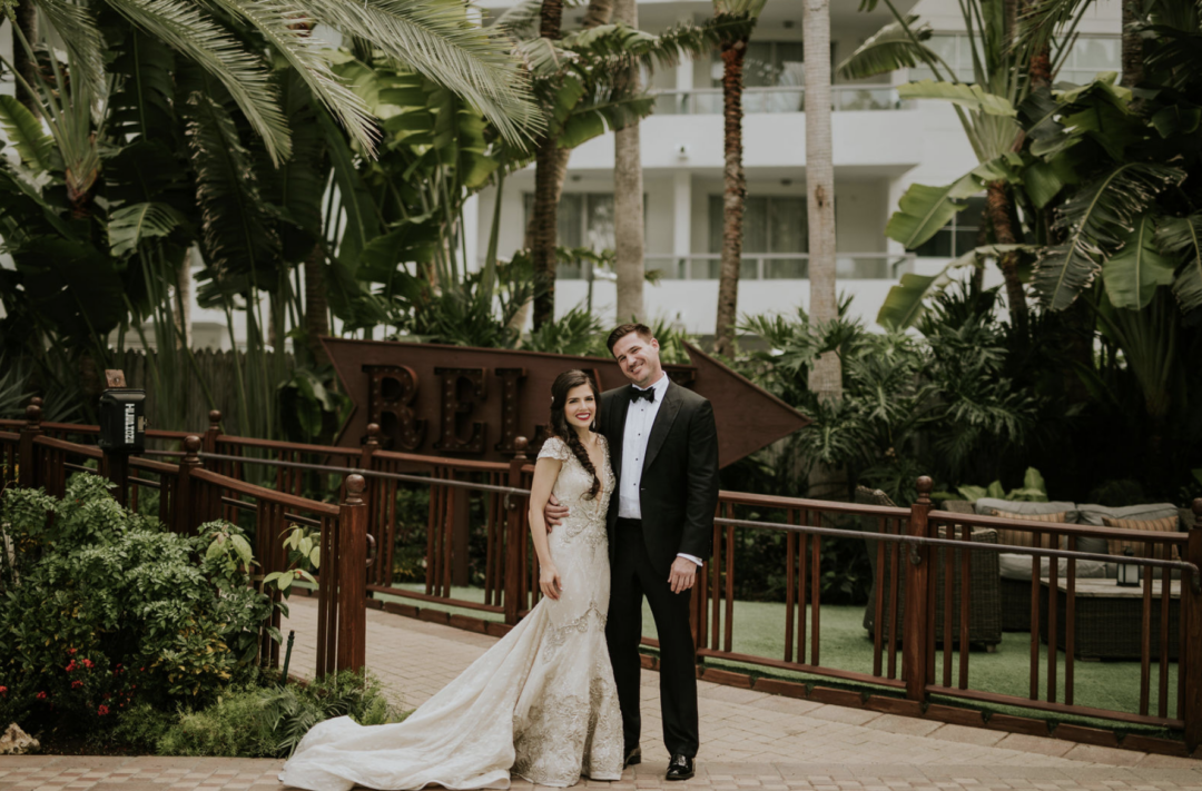 A romantic garden wedding film at Miami Beach Botanical Gardens