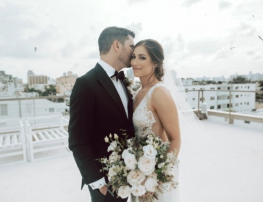 Featured in Carats and Cake our Romantic Beach Wedding The Creatives Loft