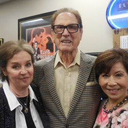 MD-Ginny Tiu-Millie Perkins - Backstage Elvis Week Aug  2018