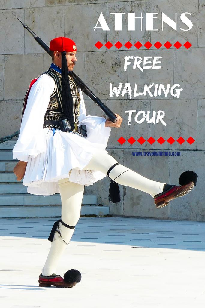 Athens Free walking tour pinterest PS