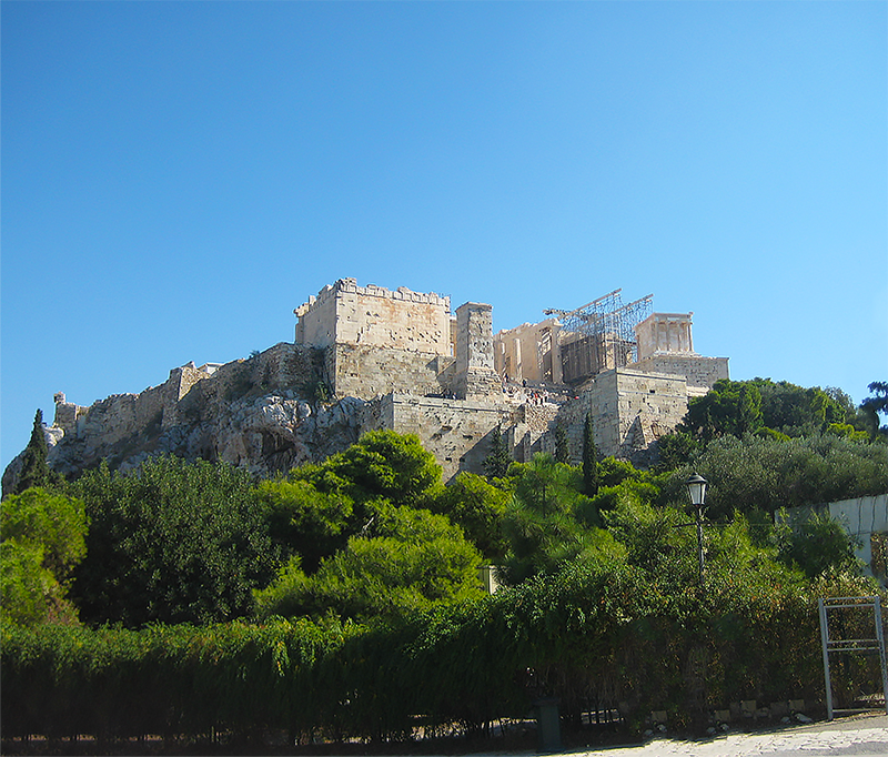 Athens free walking tour Greece Acropolis PS