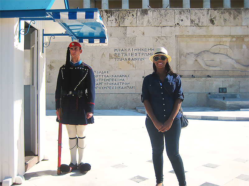 athens free walking tour greece guard ps