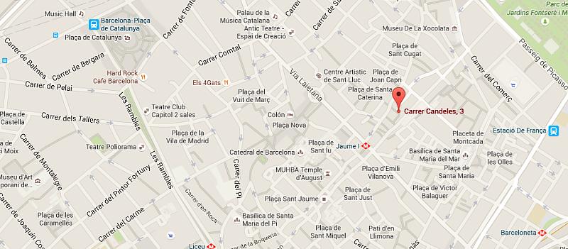 map barcelona spain 1