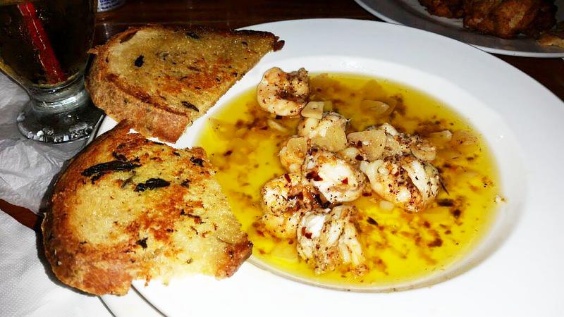 Fidos-shrimp-belize Ambergris Caye = Travel with Mia