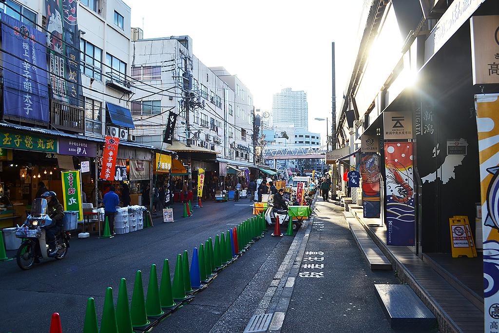 tsukiji fish market chuka soba inoue tokyo japan 1